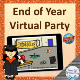 End of the Year Graduation Virtual Party Games BOOM Cards™