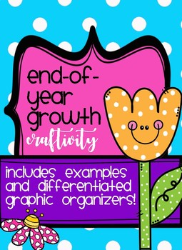 End of the Year Growth Mindset Craftivity