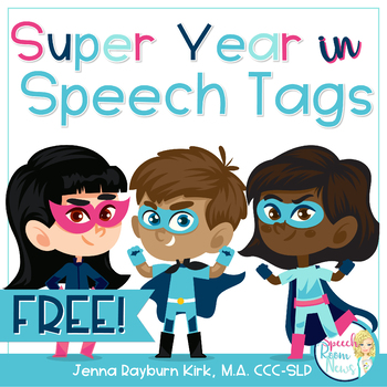 End of the Year Handouts: Super Year in Speech