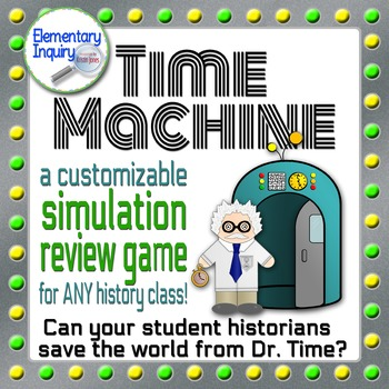Time Machine: A Customizable History Review Game