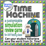 History Review Game Template: The Time Machine