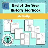 History Yearbook Activity