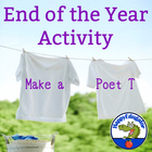 End of Year Activity: Make a Poet T-Shirt for an End of th