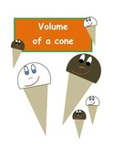 Volume of a cone activity