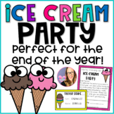 End of the Year Ice Cream Editable Party Pack