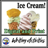 End of Year Activities - Ice Cream Writing Prompts for End of the Year
