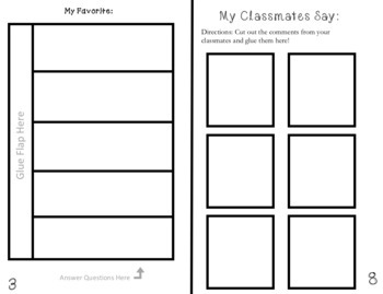 End of the Year Interactive Booklet