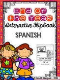 End of the Year Interactive Flipbook {SPANISH}