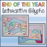 End of the Year Interactive Glyphs Distance Learning