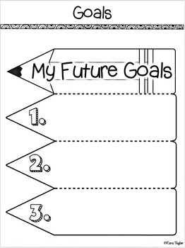 End of the Year Interactive Notebook