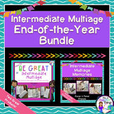 End of the Year Activity Intermediate Multiage Brochures Bundle