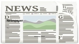 End of the Year Newspaper Presentation Template (for journ