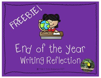 End of the Year K-2 Writing reflection