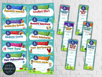 End of the Year KINDERGARTEN Student Superlative Awards BUNDLE