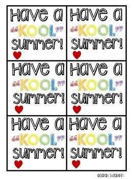 image regarding Have a Kool Summer Printable identify Contain A Insane Kool Summer season Worksheets Instruction Materials TpT