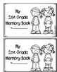 End of the Year Keepsake Memory Booklet