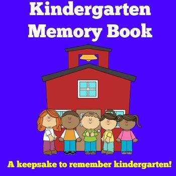 Memory Book Kindergarten   Kindergarten Memory Book