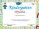 End of the Year Kindergarten Graduation Certificates(PDF):