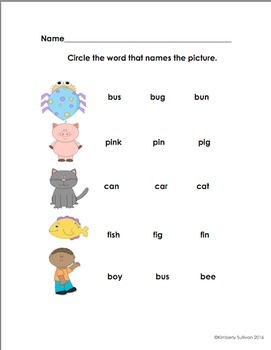 End of the Year Activities Review Math Sight Words Phonics Kindergaerten