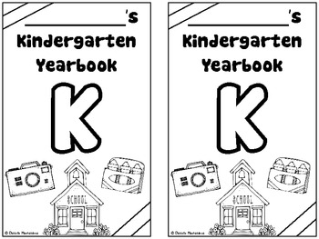 End of the Year Kindergarten Memory Book / Suitcase    {& CRAFTIVITY}