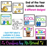 End of the Year Labels Bundle