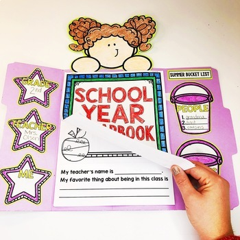 End of the Year Memory Book | Distance Learning | Digital and Printable Versions