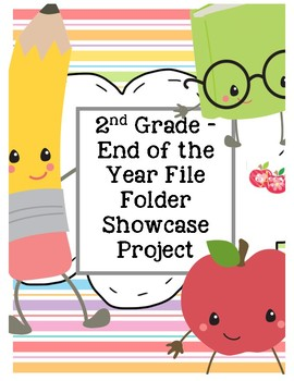 End of the Year File Folder Project - Ready to Print
