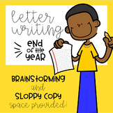 End of the Year: Letter Writing