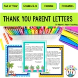 End of the Year Letter to Parents: Say Goodbye with a Special Thank You Note!