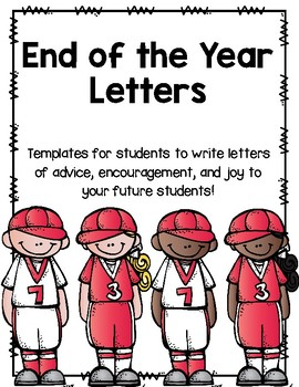 End of the Year Letters (Baseball Version)