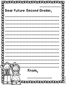 End of the Year Letters to {Future} Students!