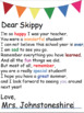 End of the Year Letters to Students (Editable Name)