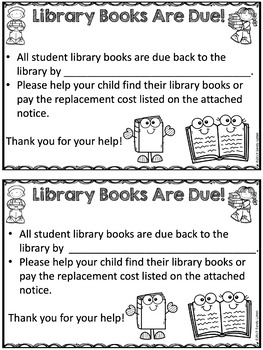 End of the Year Library Procedures