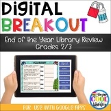 End of the Year Library Review - Digital Breakout or Escap