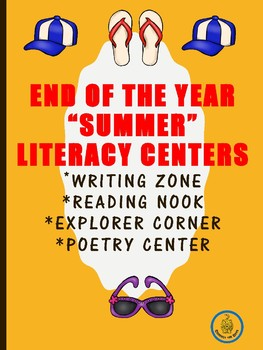 Printable End of the Year Centers
