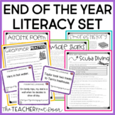 End of the Year Literacy Set for 4th - 5th Grade