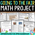 End of the Year Math Review: End of Year Math Project {Going to the Fair}