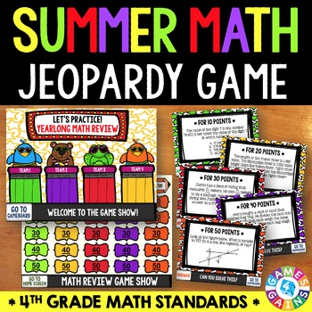 End of the Year Math: 4th Grade Math Review