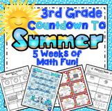 End of the Year Math:  5 Week Countdown (3rd Grade)