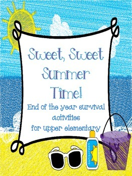 End of the Year Math Activity Bundle