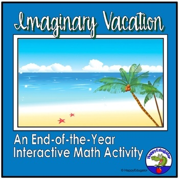 End of Year Activity Interactive PowerPoint - Word Problems