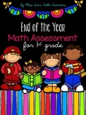 End of the Year Math Assessment