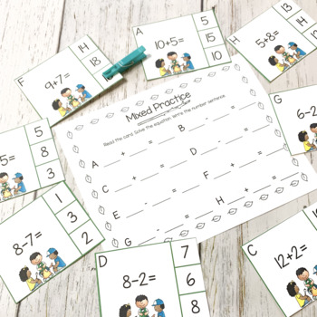 End of the Year Math Centers for Kindergarten
