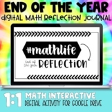 End of the Year Math Digital Reflection