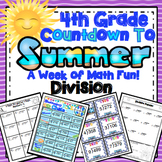 4th Grade End of the Year Math: 4th Grade Division Review