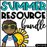End of the Year Math & ELA Resources - BUNDLE!