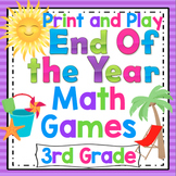 3rd Grade End of the Year Math Games: 3rd Grade Math Review