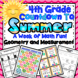 4th Grade End of the Year Math: 4th Grade Geometry and Measurement Review