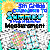 End of the Year Math: Measurement Review (5th Grade)