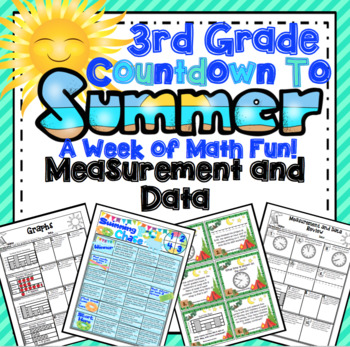 End of the Year Math:  Measurement and Data Review (3rd Grade)